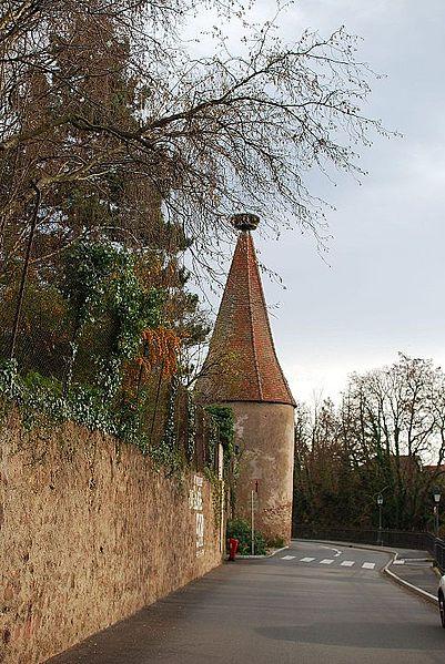 Photo du Monument Historique Enceintes fortifiées urbaines situé à Ribeauvillé