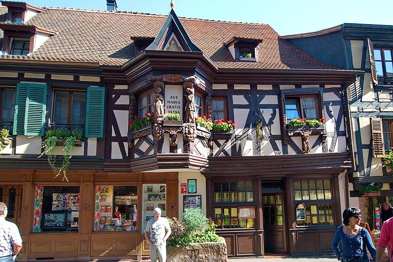 Photo du Monument Historique Maison dite des Ménétriers situé à Ribeauvillé