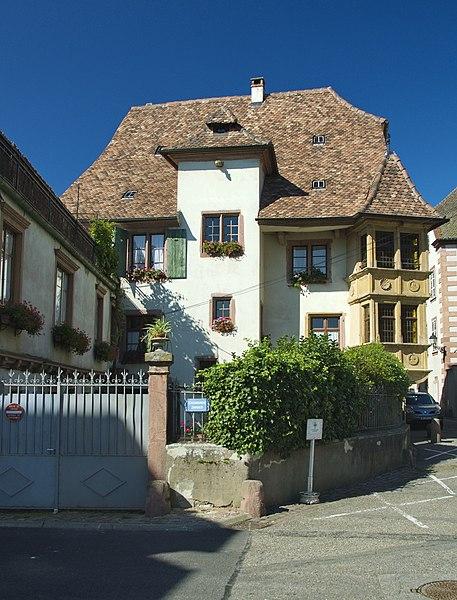 Photo du Monument Historique Maison situé à Ribeauvillé
