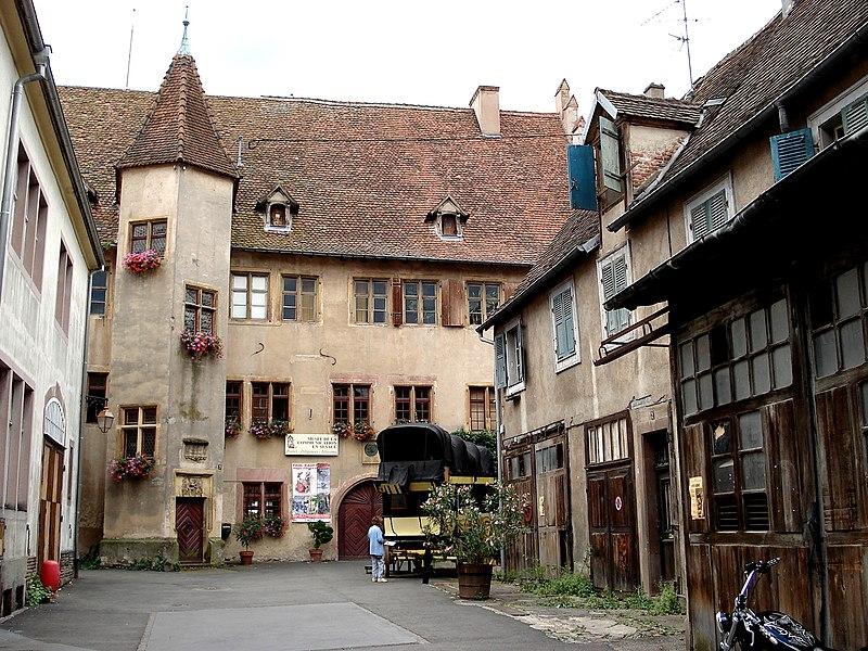 Photo du Monument Historique Ancien château des comtes de Montbéliard-Wurtemberg situé à Riquewihr