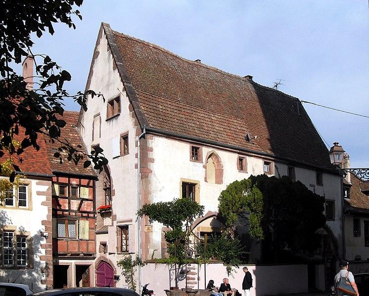 Photo du Monument Historique Ancienne église Notre-Dame situé à Riquewihr