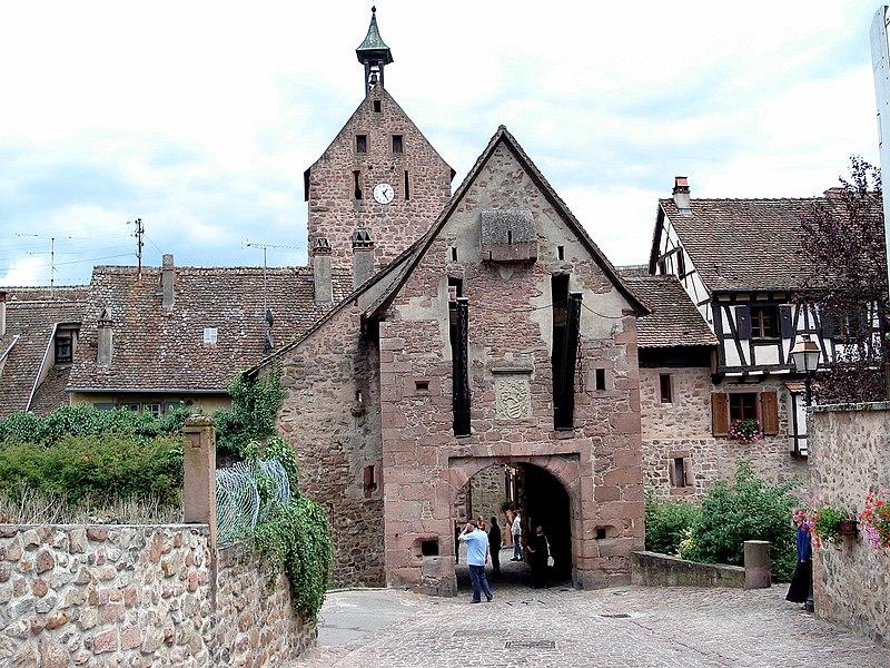 Photo du Monument Historique Anciennes fortifications situé à Riquewihr