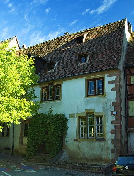 Photo du Monument Historique Ancien hôpital situé à Riquewihr