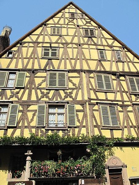 Photo du Monument Historique Immeuble situé à Riquewihr