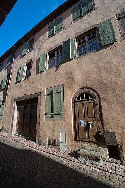 Photo du Monument Historique Maison situé à Riquewihr