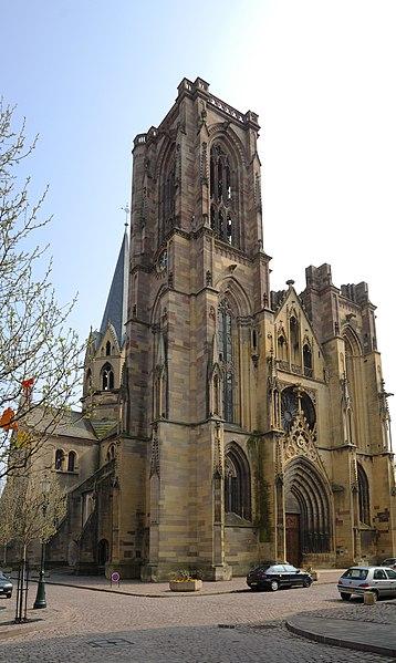 Photo du Monument Historique Eglise Saint-Arbogast, puis Notre-Dame de l'Assomption situé à Rouffach