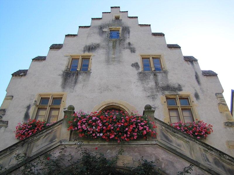 Photo du Monument Historique Ancienne halle au blé situé à Rouffach
