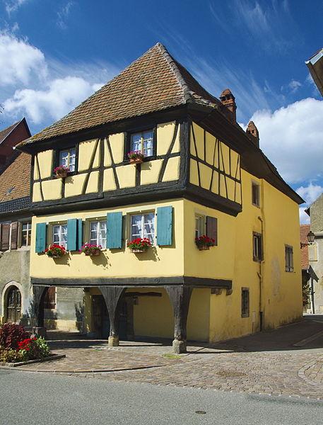 Photo du Monument Historique Immeuble ou maison dite des Trois Dames situé à Rouffach