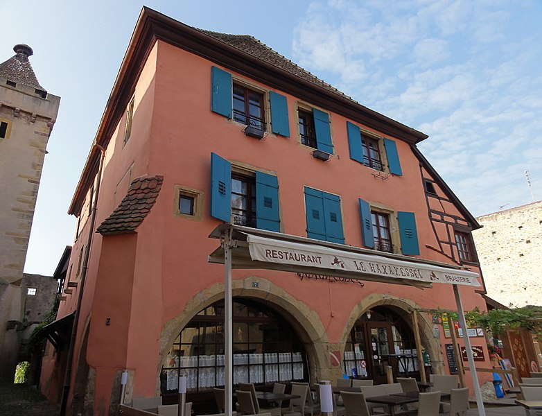 Photo du Monument Historique Ancienne maison de l'Oeuvre Notre-Dame situé à Rouffach