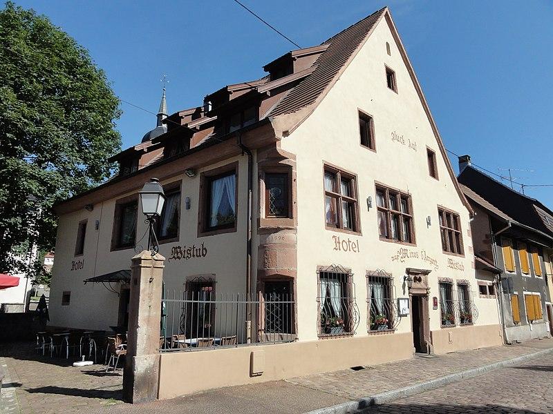 Photo du Monument Historique Maison situé à Sainte-Marie-aux-Mines