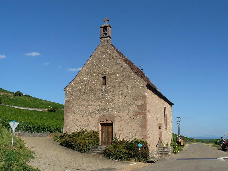 Photo du Monument Historique Chapelle Sainte-Anne situé à Sigolsheim