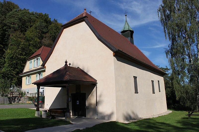 Photo du Monument Historique Chapelle Saint-Martin dite Hippoltskirch situé à Sondersdorf