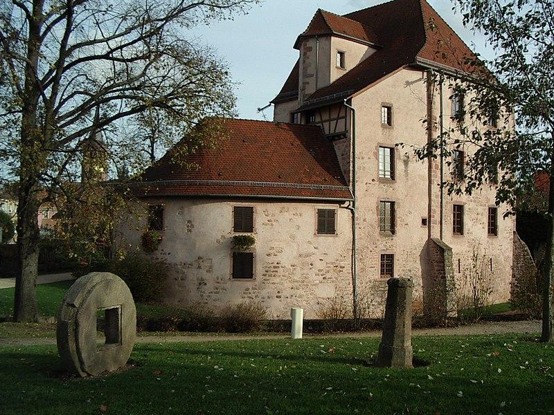 Photo du Monument Historique Château de Bucheneck situé à Soultz-Haut-Rhin