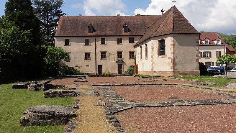 Photo du Monument Historique Ancienne commanderie des Hospitaliers de Saint-Jean situé à Soultz-Haut-Rhin