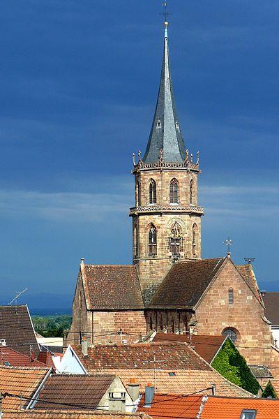 Photo du Monument Historique Eglise Saint-Maurice situé à Soultz-Haut-Rhin