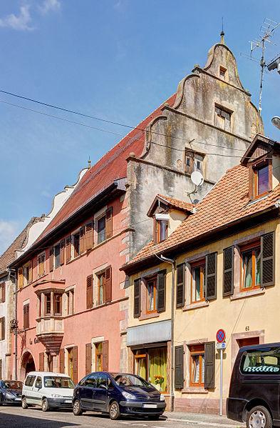 Photo du Monument Historique Maison situé à Soultz-Haut-Rhin