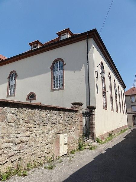 Photo du Monument Historique Synagogue situé à Soultz-Haut-Rhin