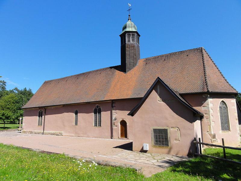 Photo du Monument Historique Chapelle Sainte-Marie dite chapelle du Schaefertal ou Val du Pâtre situé à Soultzmatt