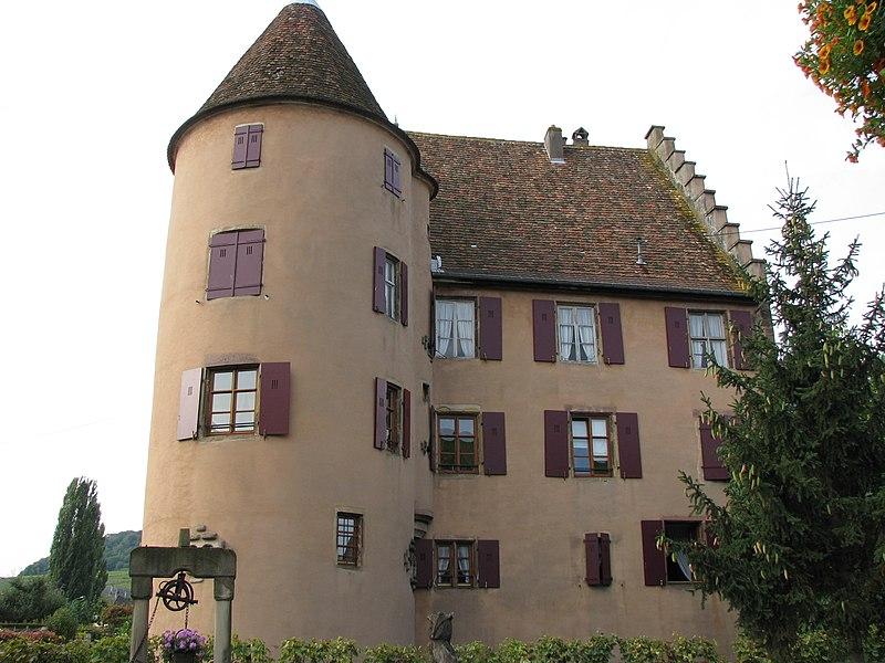 Photo du Monument Historique Château Wagenbourg situé à Soultzmatt