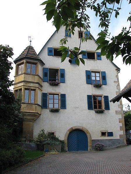 Photo du Monument Historique Maison situé à Soultzmatt