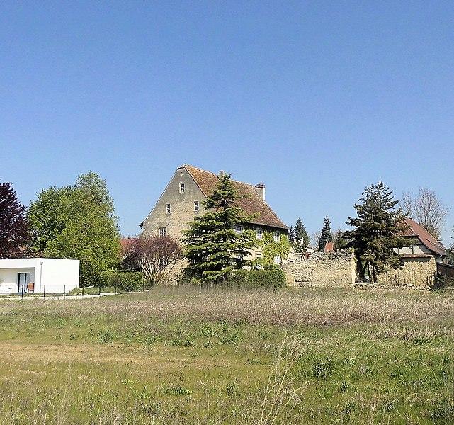 Photo du Monument Historique Ancien manoir seigneurial situé à Steinbrunn-le-Bas