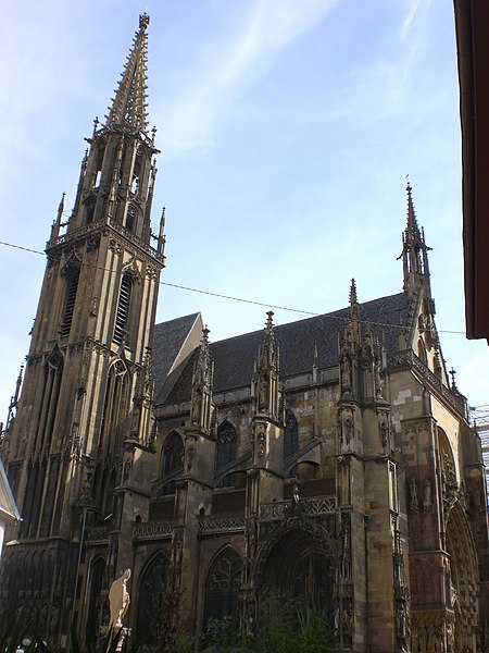 Photo du Monument Historique Ancienne collégiale Saint-Thiebault situé à Thann