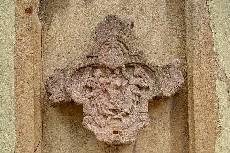 Photo du Monument Historique Ancienne halle aux blés situé à Thann