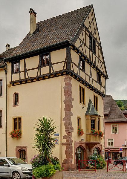 Photo du Monument Historique Maison Ehrhard situé à Thann