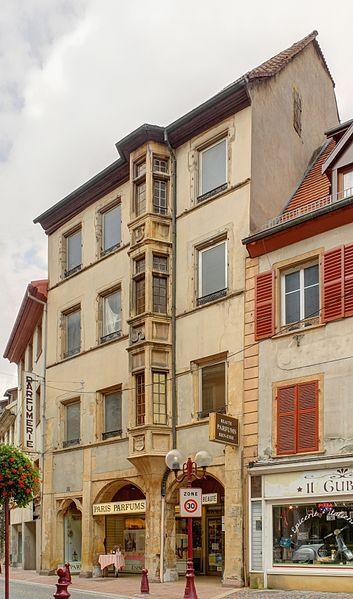 Photo du Monument Historique Immeuble situé à Thann