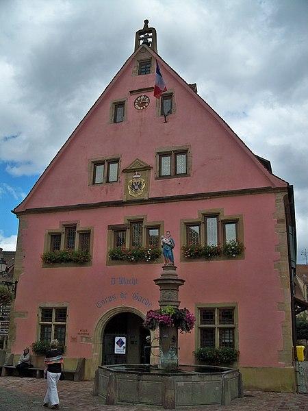 Photo du Monument Historique Corps de garde situé à Turckheim