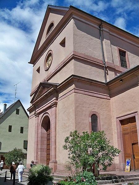 Photo du Monument Historique Eglise catholique Sainte-Anne situé à Turckheim