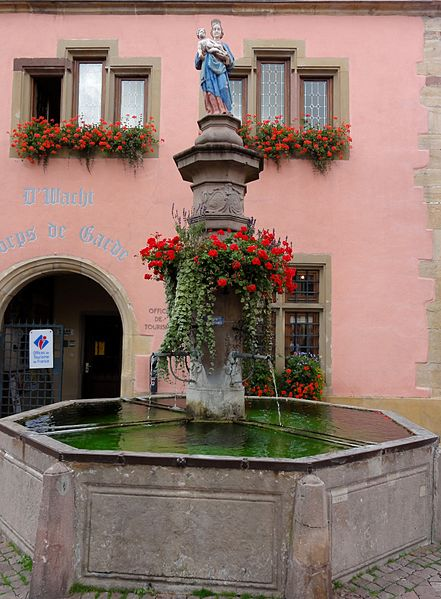 Photo du Monument Historique Fontaine situé à Turckheim