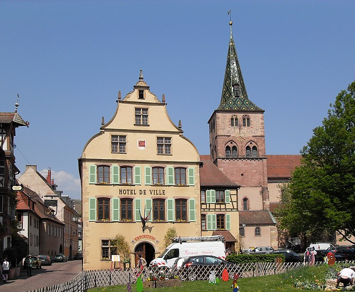 Photo du Monument Historique Hôtel de ville situé à Turckheim