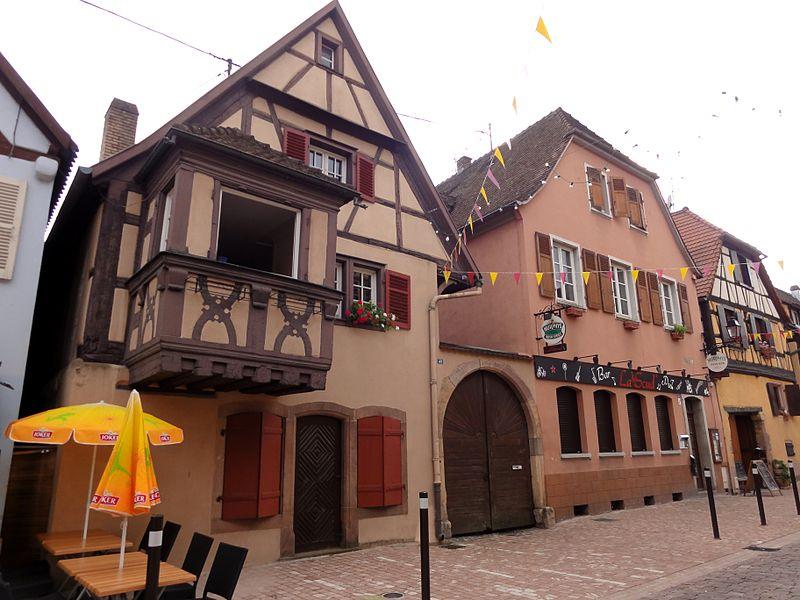 Photo du Monument Historique Maison situé à Turckheim