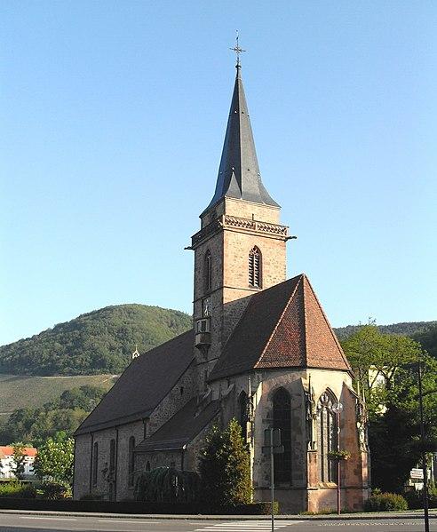 Photo du Monument Historique Eglise catholique Saint-Dominique situé à Vieux-Thann