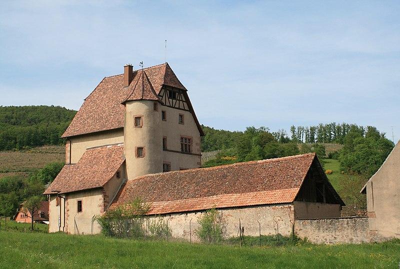 Photo du Monument Historique Château situé à Walbach