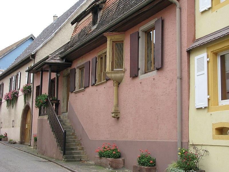Photo du Monument Historique Maison situé à Westhalten