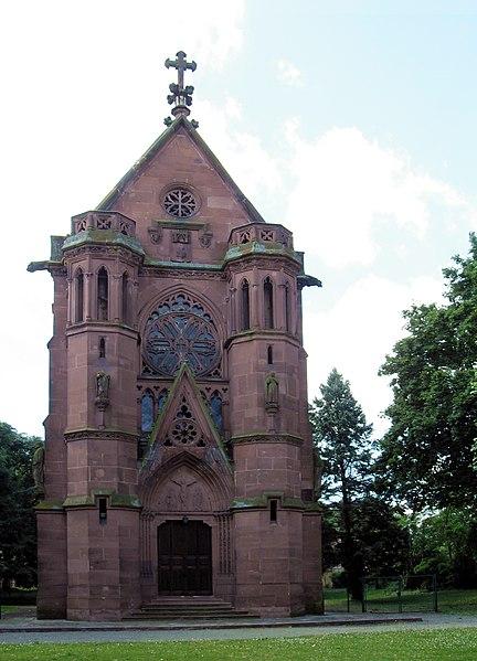 Photo du Monument Historique Chapelle Sainte-Thérèse-de-l'Enfant-Jésus, dite chapelle Herzog, à Logelbach situé à Wintzenheim