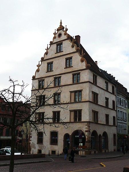 Photo du Monument Historique Maison dite Maison Kern situé à Colmar