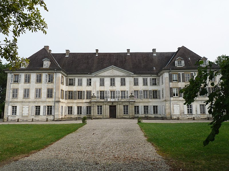 Photo du Monument Historique Château de Reinach situé à Hirtzbach