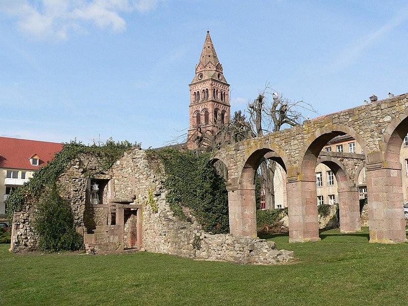 Photo du Monument Historique Ancienne abbaye bénédictine Saint-Grégoire situé à Munster