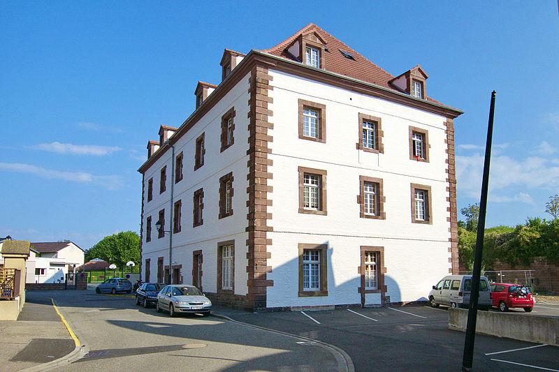 Photo du Monument Historique Ancienne caserne, dite Caserne Serano situé à Neuf-Brisach