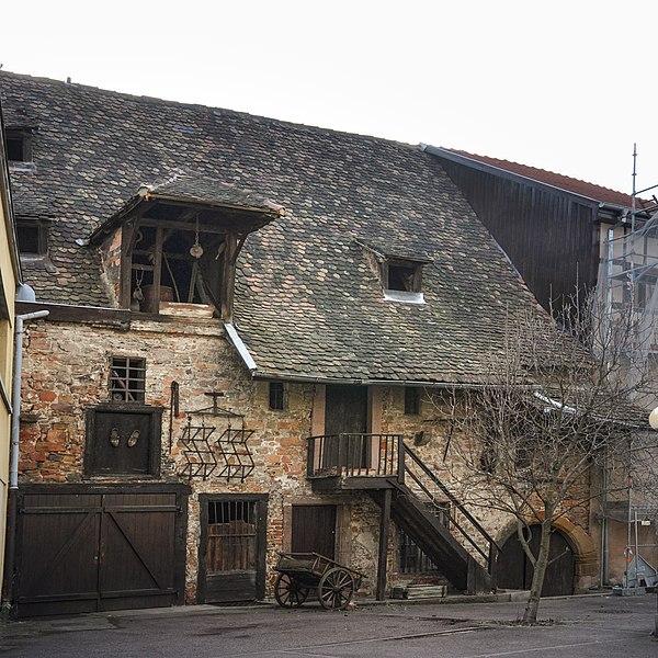 Photo du Monument Historique Ancien grenier médiéval situé à Colmar