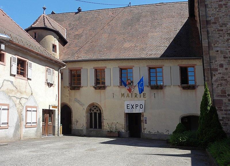 Photo du Monument Historique Ancien bâtiment conventuel situé à Lautenbach