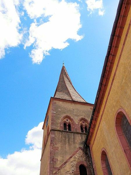 Photo du Monument Historique Eglise catholique Saint-Gall situé à Niedermorschwihr