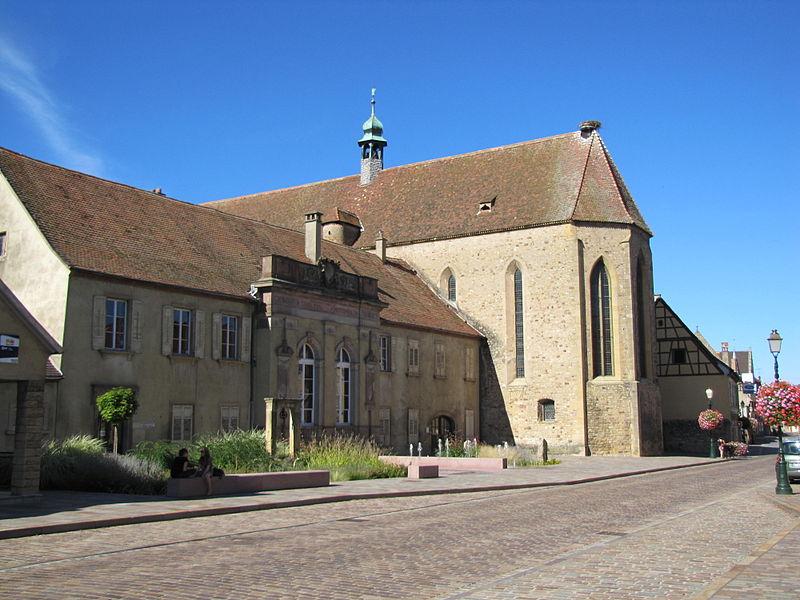 Photo du Monument Historique Ancien couvent des Récollets situé à Rouffach