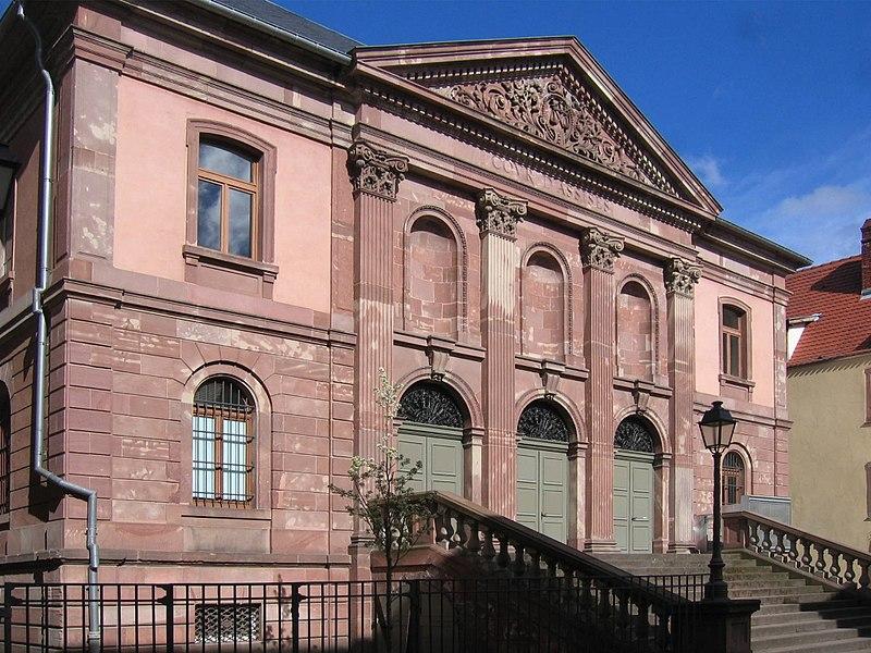 Photo du Monument Historique Cour d'Assises situé à Colmar