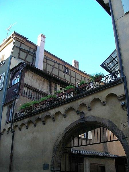 Photo du Monument Historique Ancienne chancellerie situé à Colmar
