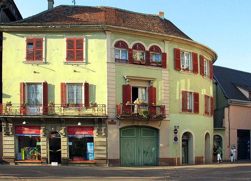 Photo du Monument Historique Bâtiments situé à Colmar