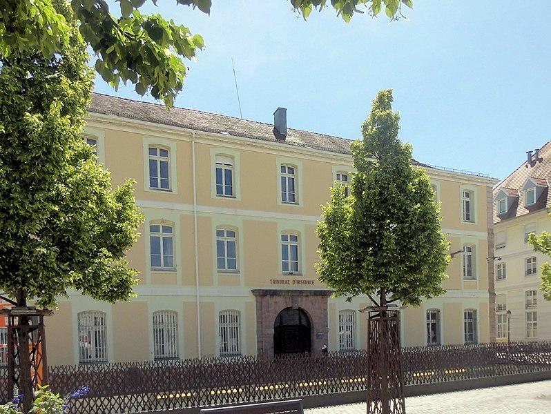 Photo du Monument Historique Tribunal d'Instance situé à Huningue